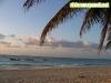 Linea de costa en playa del Carmen