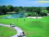 El campo de golf en Playacar