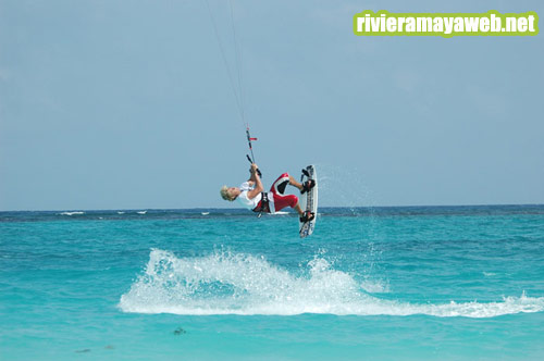 Kitesurf en Playa del Carmen