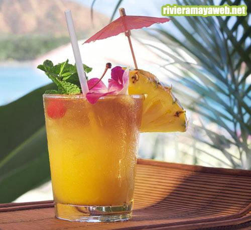 Cocktails en Riviera Maya