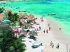 Vista de pájaro de Playa del Carmen
