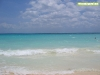 El agua transparente en Playa del Carmen