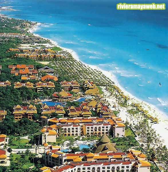 Vista aerea de Playacar